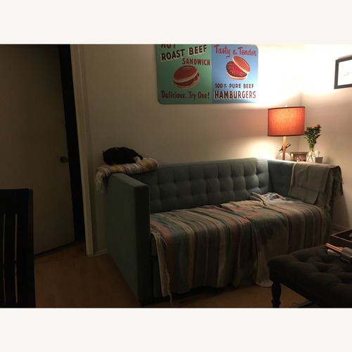 Used Custom West Elm Henry Sofa Deluxe Queen Sleeper for sale on AptDeco