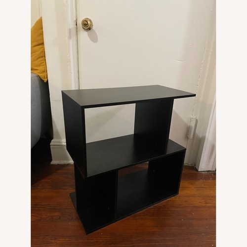Used Black Modern Book Shelf for sale on AptDeco