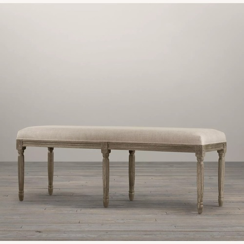 Used Restoration Hardware The Louis Bench for sale on AptDeco
