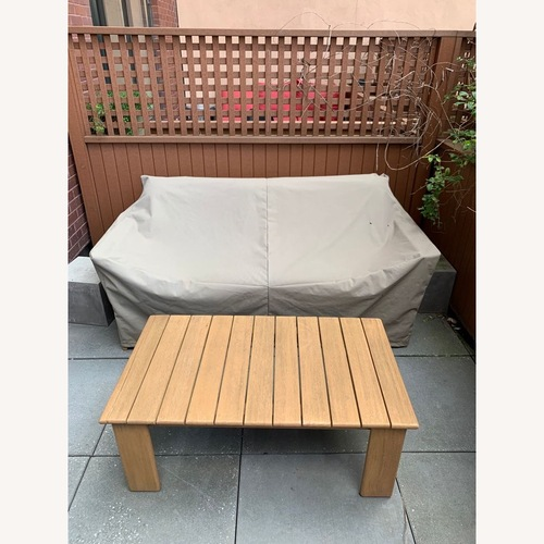 Used West Elm Playa Outdoor Sofa for sale on AptDeco