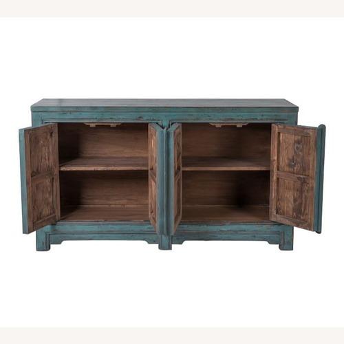 Used Pottery Barn Ashworth Buffet Cabinet for sale on AptDeco