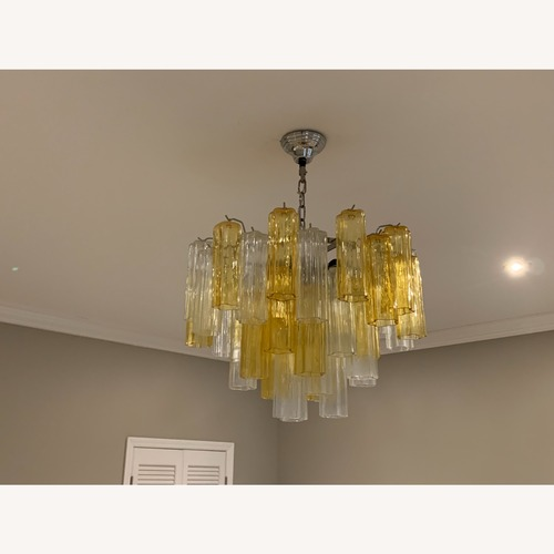 Used Authentic Murano Glass Chandelier for sale on AptDeco