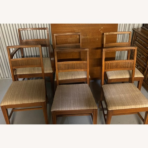 Used Dinning Room Table with 6 Chairs for sale on AptDeco