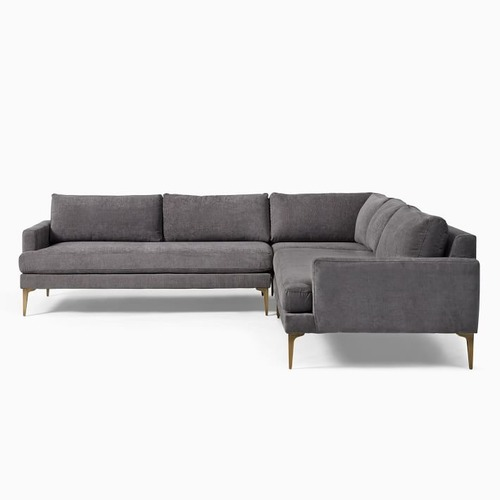 Used West Elm Andes 3-Piece L-Shaped Sectional for sale on AptDeco
