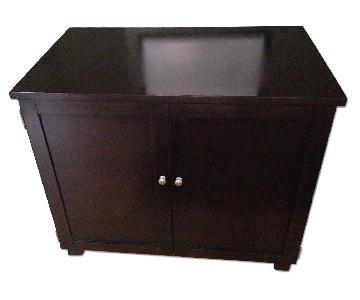 William Sonoma Hold Everything Compact Desk/Storage Unit