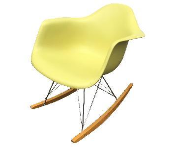 Vitra Charles Eames Eiffel Rocking Chair