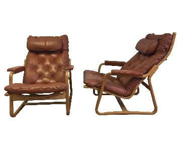 Danish Lounge Chairs For Cado