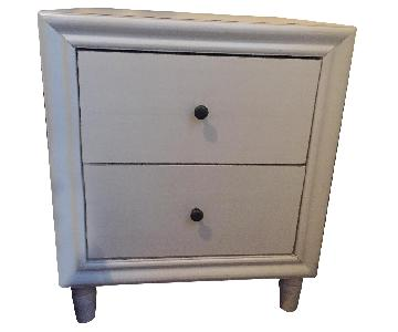 Pottery Barn Bedside Tables