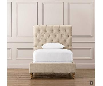 Restoration Hardware Chesterfield Tufted Twin Bed Frame