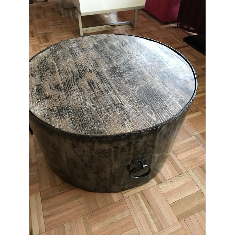 Modern Rustice Artistic Center Table-0