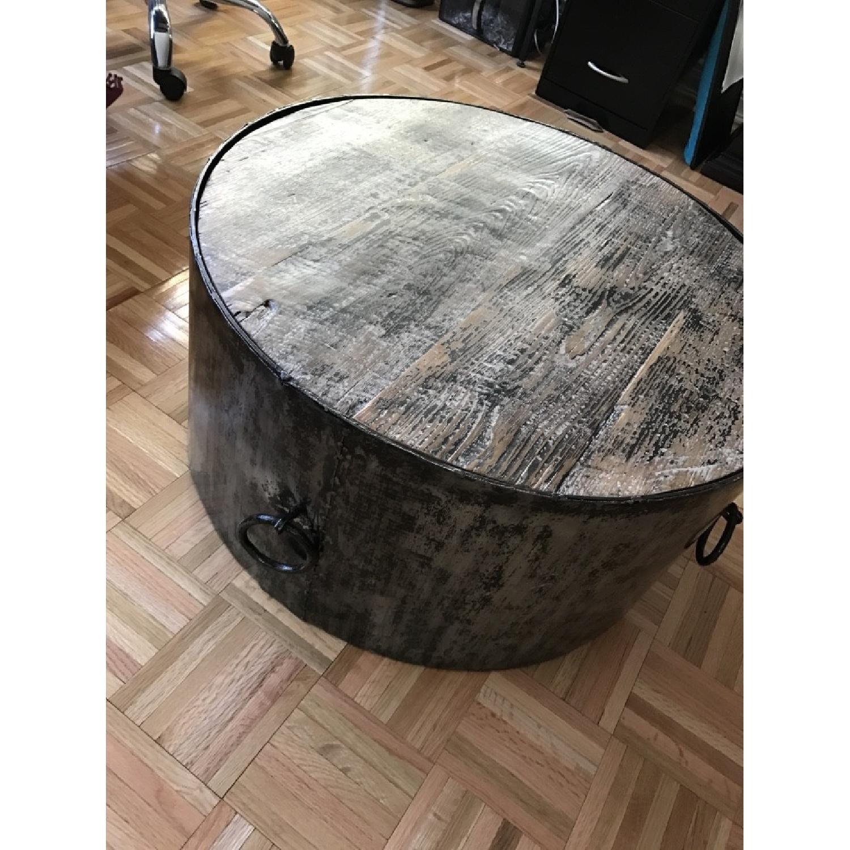 Modern Rustice Artistic Center Table-5
