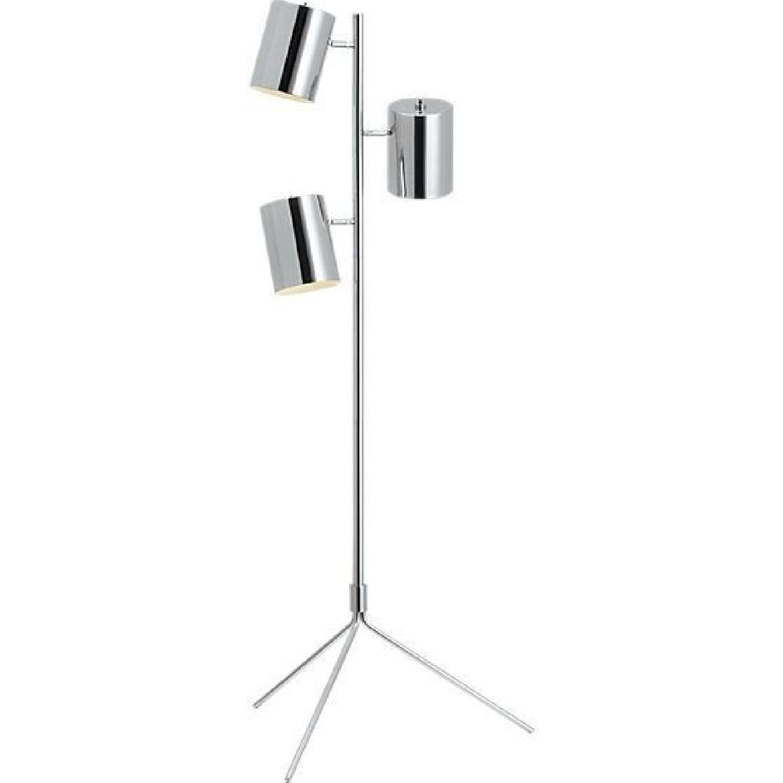 Cb2 triple floor lamp aptdeco for Cb2 orange floor lamp