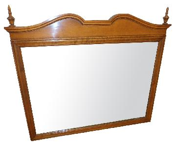 Maple Wood Handcrafted Mirror