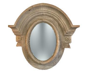 Restoration Hardware Salvaged Wood Mirror