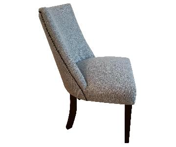 Home Elegance Grey Dining Chair w/ Nailhead Trim