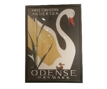 BoConcept Swan Art on Paper