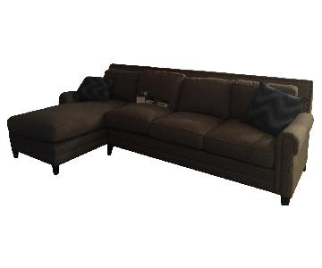 Bassette Harlan Sectional Couch