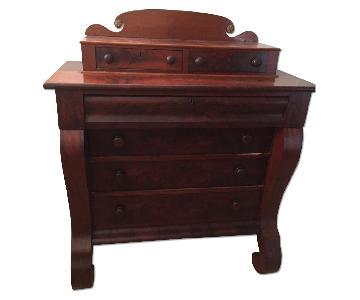 Antique Circa 1860s American Empire Dresser