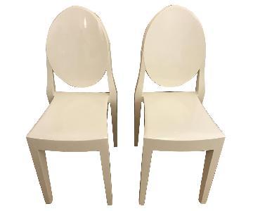 LexMod Casper White Ghost Chair