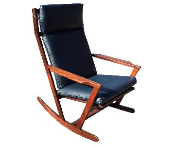 Poul Cadovius Furniture Danish Rocker