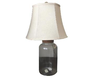 Bottle Shape Table Lamp w/ Cork Stopper