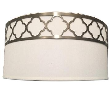 White Flush Mount Fixture