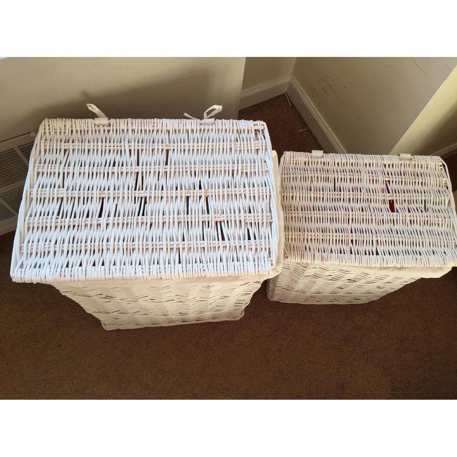 Badger Decorative Basket With White Liners Set Of 3  from d6qwfb5pdou4u.cloudfront.net