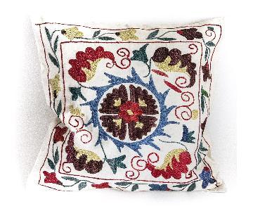 Handmade Suzani Pillow Case