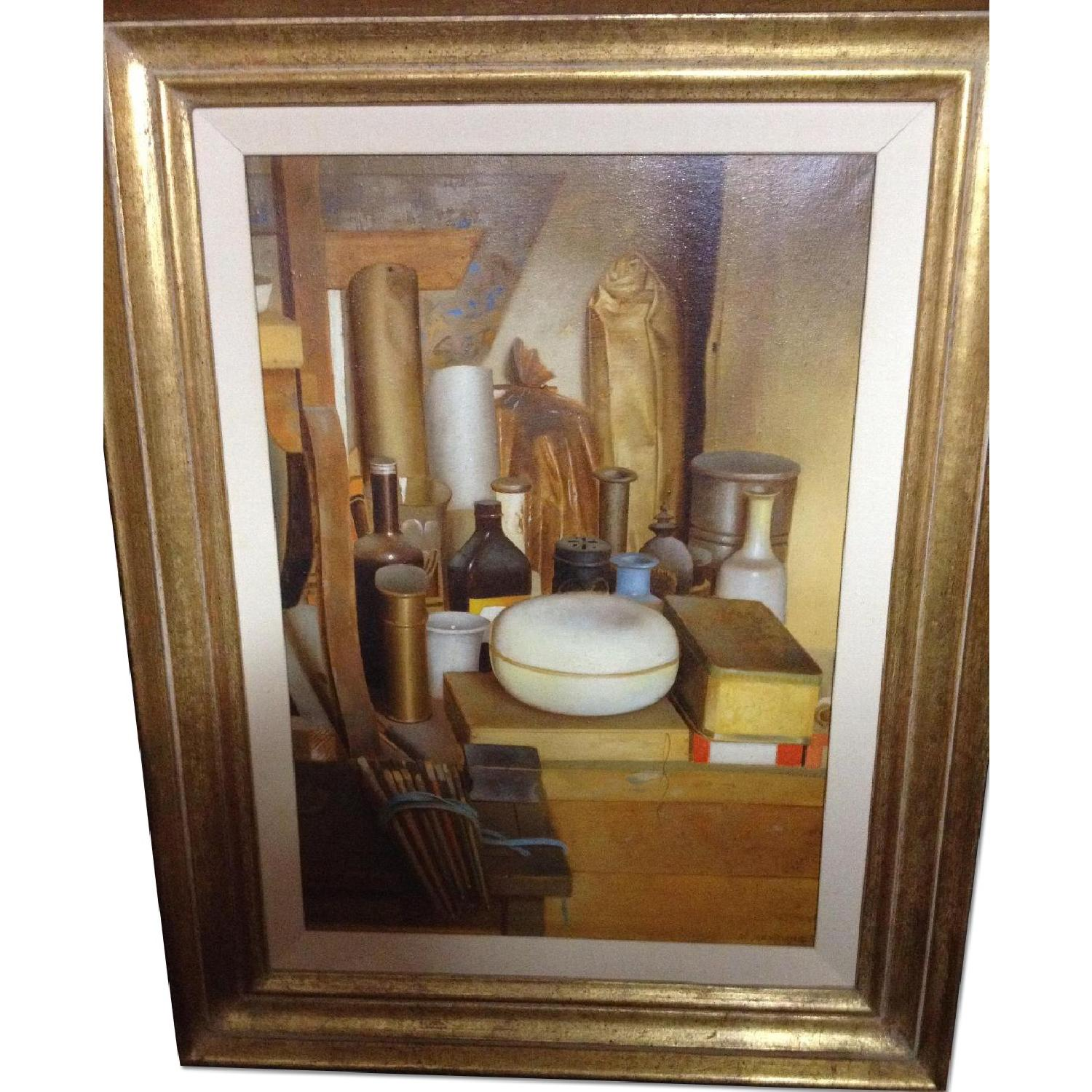 Assemblage Oil Painting by Walter Jervolino