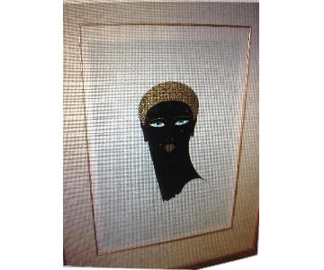 Queen of Sheba by Erte