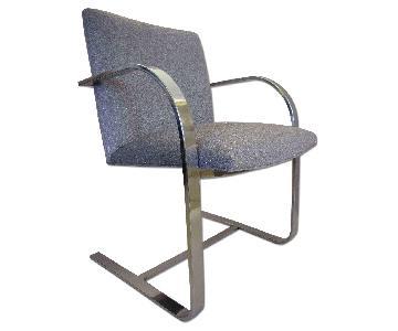 1950's Chrome Chairs - Pair
