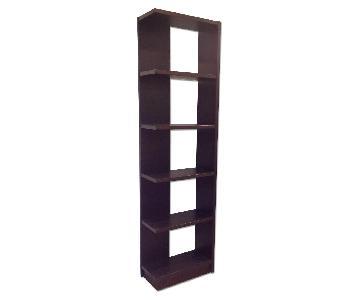 Crate Barrel Bookcases Set Of 2