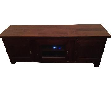 Crate & Barrel Media Console