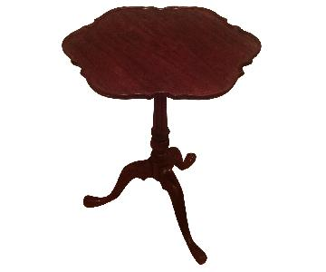 Antique Grand Rapids Hand Carved Side Table