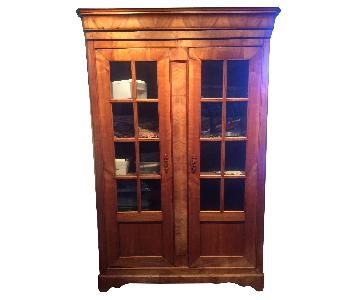 18th Century French Country Wall Unit