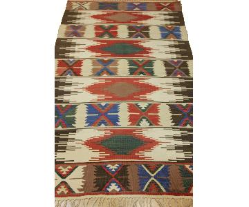 Turkish Hand-Woven Vintage Kilim Rug