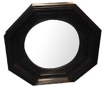 English Georgian Octagonal Convex Mirror