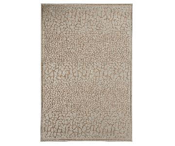 Contemporary Area Rug in Ivory