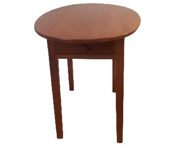 DutchCrafters Amish Large End Table
