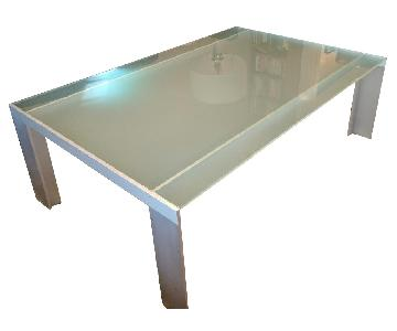 Design Within Reach Deneb Glass Coffee Table