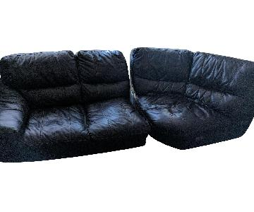 Bob's 4-Piece Leather Sectional