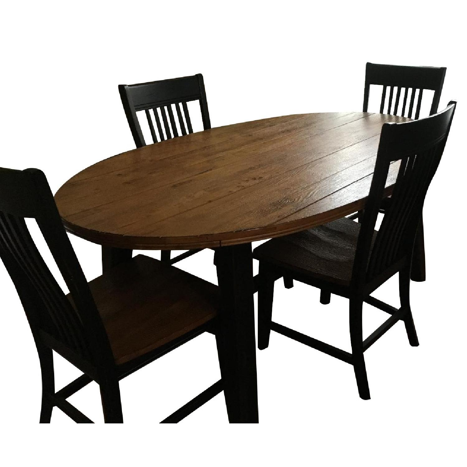 Havertys Dining Table W 4 Dining Chairs Aptdeco