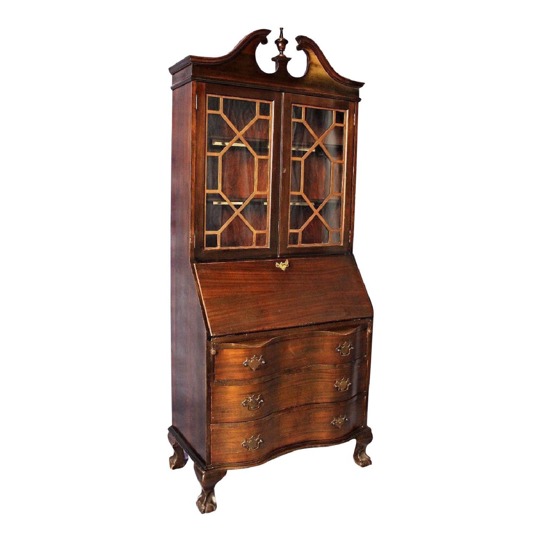 Antique Dining Room Tables For Sale Antique Maddox Table Mahogany Secretary Desk Aptdeco