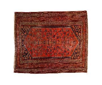 Vintage Malayer Square Rug