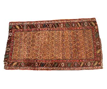 Antique Halvai Bijar Rug