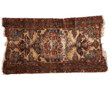 Vintage Distressed Malayer Rug