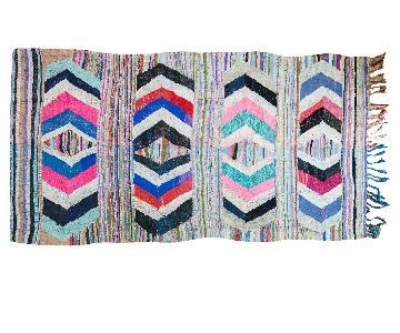 Vintage Rag Rug Carpet