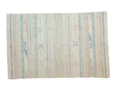4x7 Vintage Dhurrie Rug