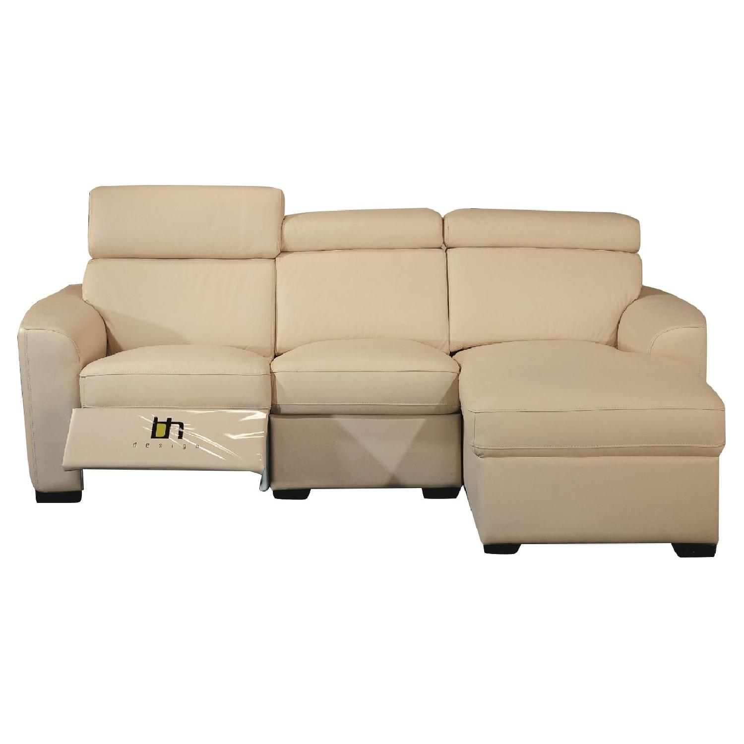 Hickory Chair Beige Sectional Sofa AptDeco