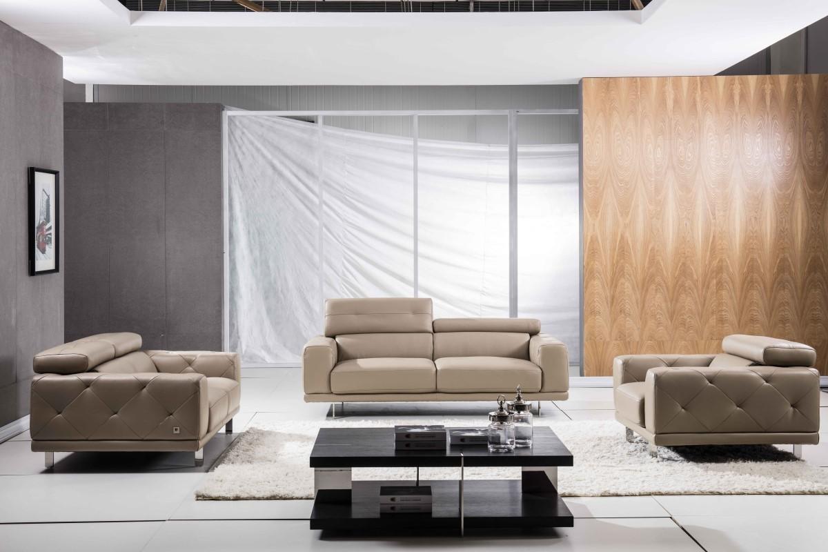 Fine Modern Style Chair W Adjustable Headrests Tufted Sides In Inzonedesignstudio Interior Chair Design Inzonedesignstudiocom